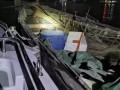 广东省:渔政夜间突击执法查获电鱼船和40吨走私冻品